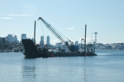 Mobilizing for Kirkland, moving through Ballard Locks, arranging several bridge openings
