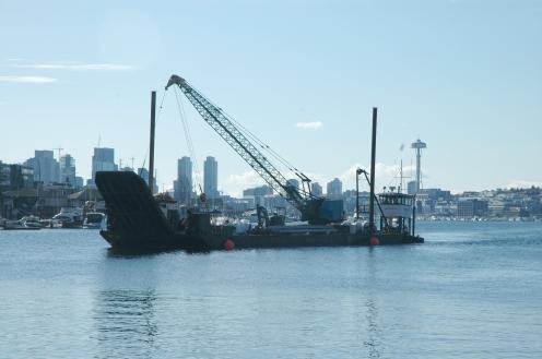 Mobilizing for Kirkland, moving through Ballard Locks, arranging several bridge openings