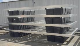 dock aluminum frames w tubs