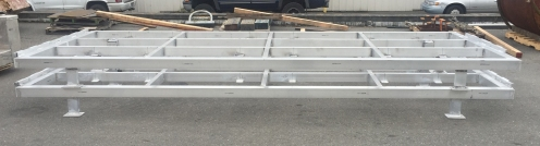 dock aluminum frames